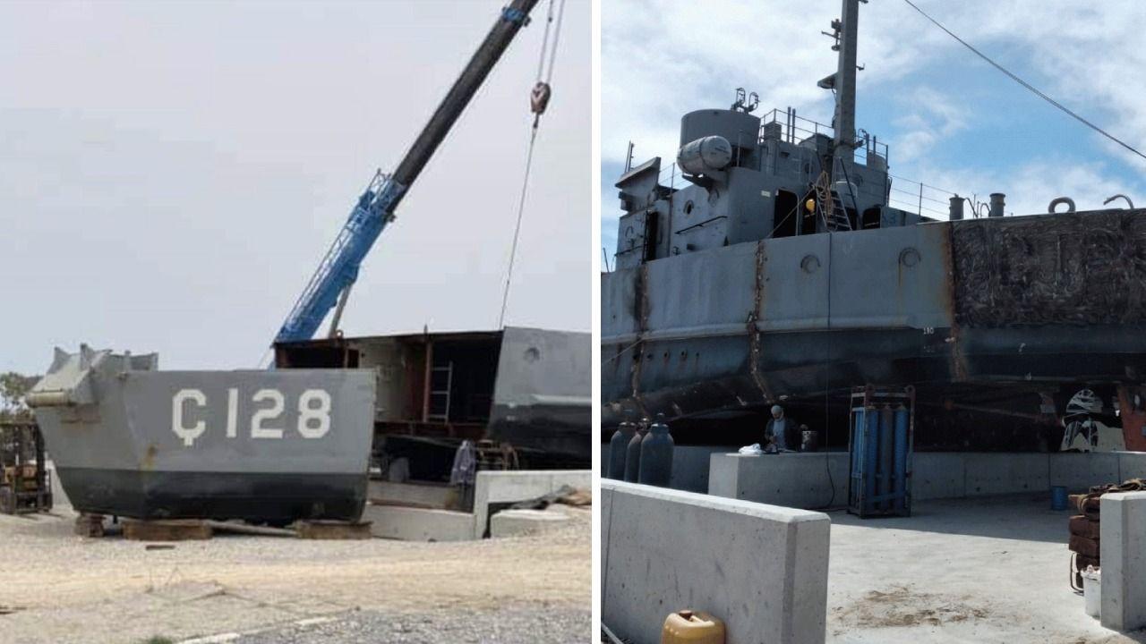 Kıbrıs Türklerine özgürlük götüren çıkarma gemisinden 128'i sildiler - Resim: 2