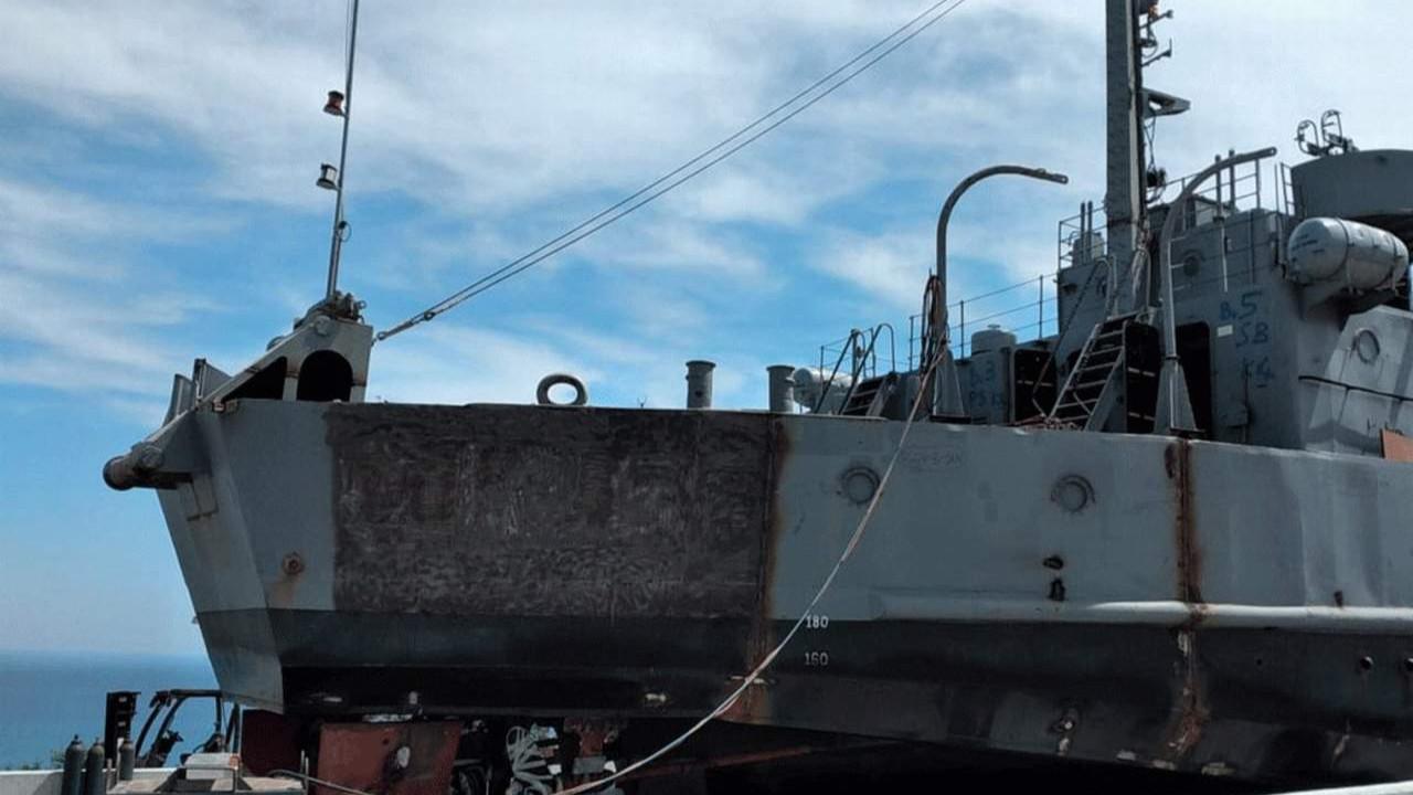 Kıbrıs Türklerine özgürlük götüren çıkarma gemisinden 128'i sildiler