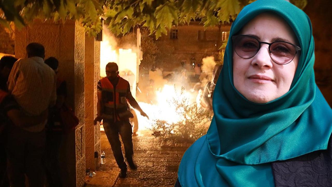 HDP'li vekilden skandal ''Mescid-i Aksa'' paylaşımı
