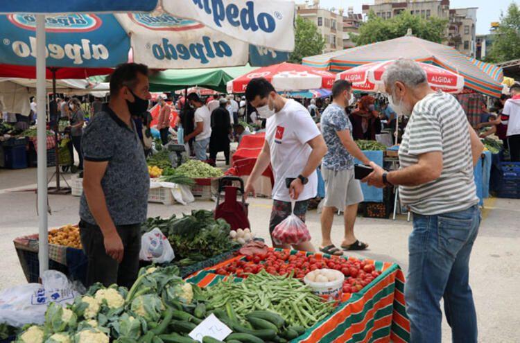 Pazarlar açıldı, marketler fiyatları düşürdü - Resim: 4