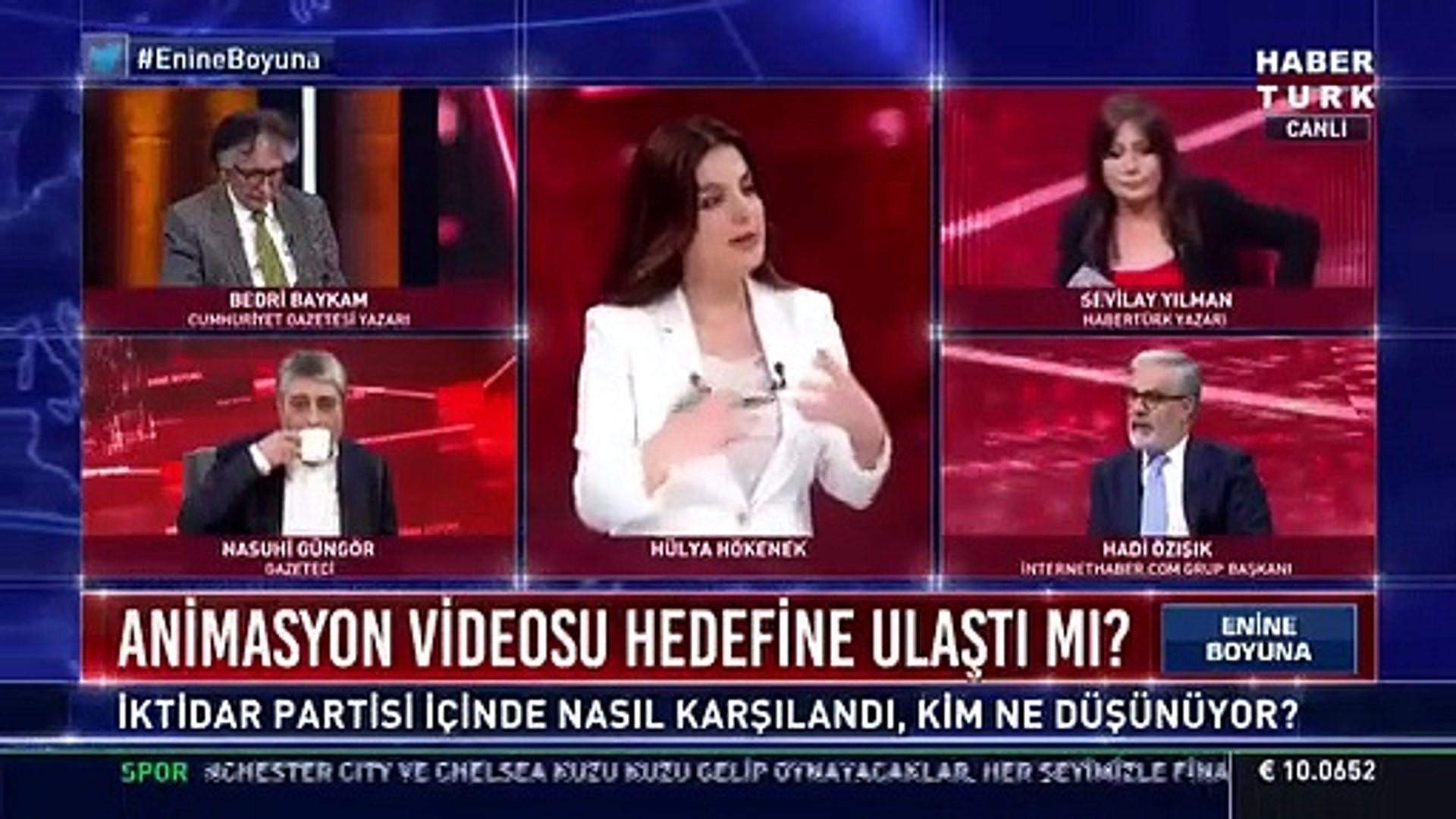 AK Parti'deki ''çizgi film'' krizinin detayları canlı yayında ortaya çıktı