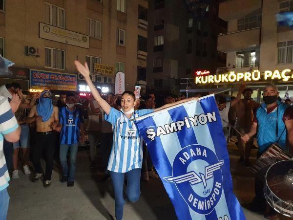 Adana Demirspor Süper Lig'e yükseldi, Adanalılar sokağa döküldü - Resim: 2