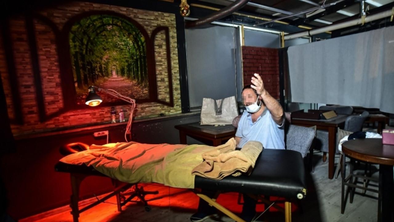 Baskın sonrası ilginç görüntüler: Fiziki tedavi yapıyorum