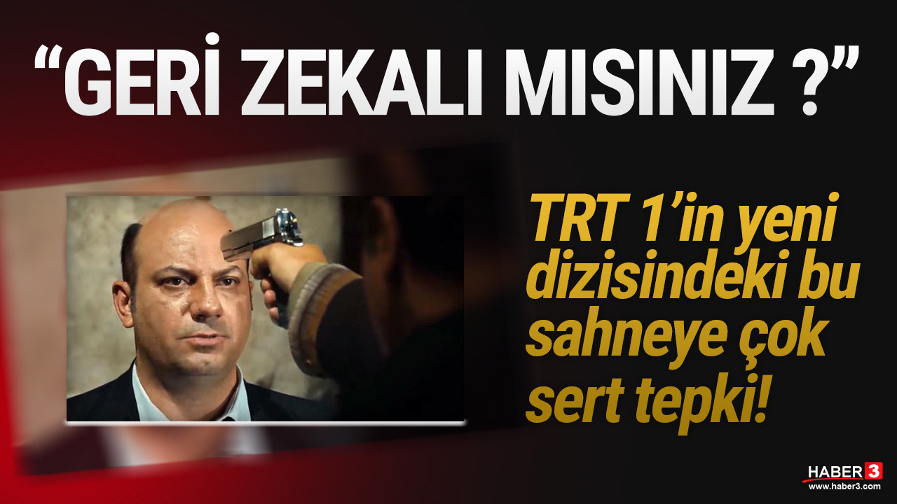 TRT'ye ''geri zekalı mısınız'' tepkisi