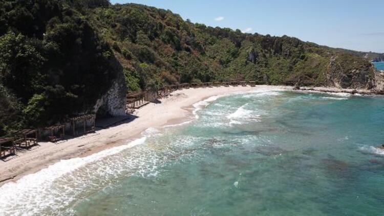 Şile sahilinde tepki çeken görüntü - Resim: 3