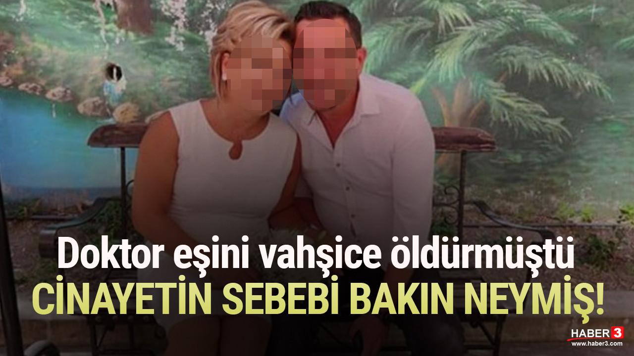 Doktor Zeynep'i öldüren eşinden kan donduran ifade!