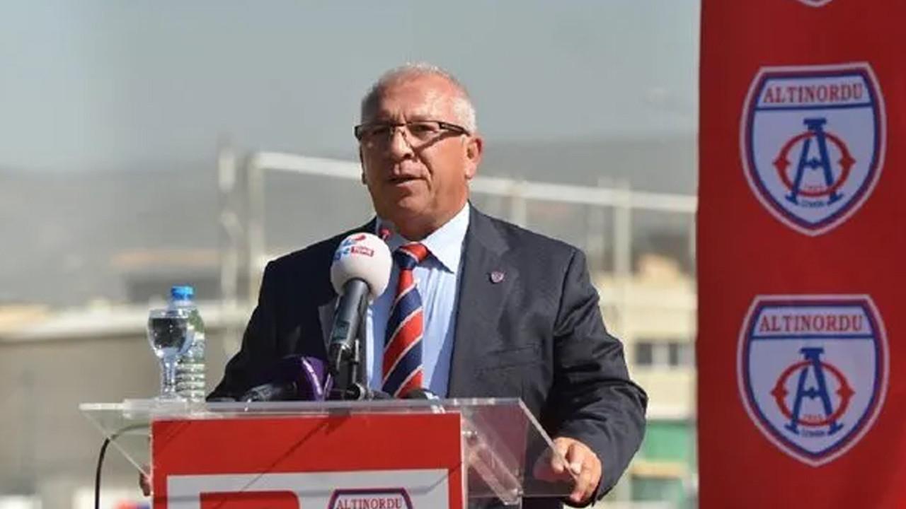 Altınordu Kulübü Başkanı: Ben takımımızın Süper Lig'e çıkmasını istemiyorum