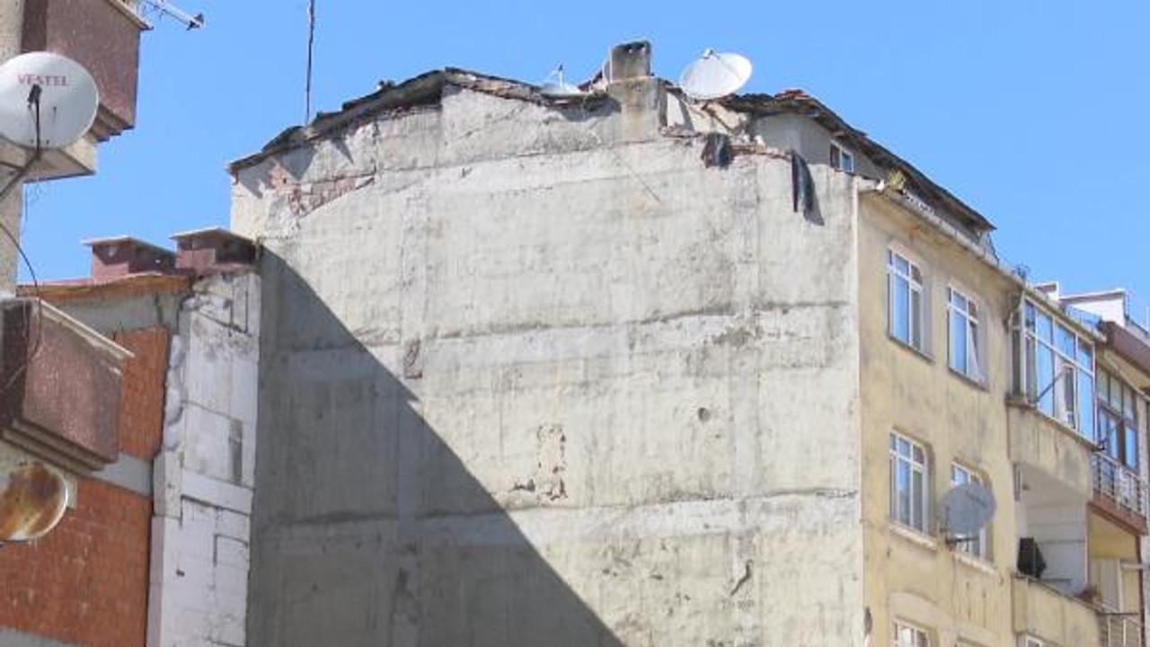 Çöken binanın bitişiğindeki bina da yıkılacak