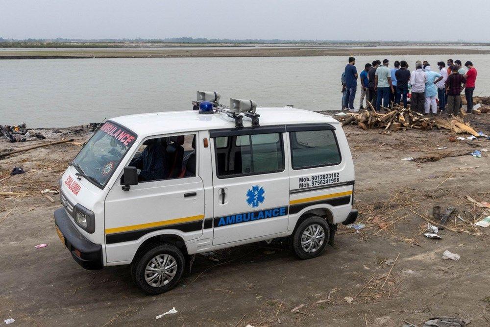 Ganj Nehri'nde korkunç görüntü: 71 kişinin cesedi kıyıya vurdu - Resim: 4