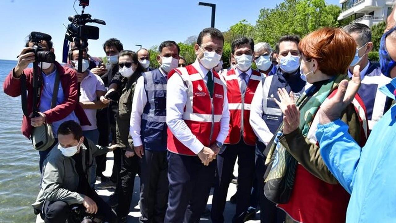 Akşener ve İmamoğlu'nun konvoyunda tartışma çıktı