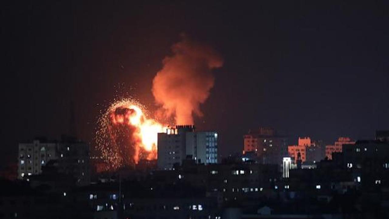 İsrail Gazze'ye saldırdı, Hamas Tel Aviv'e 130 roket attı