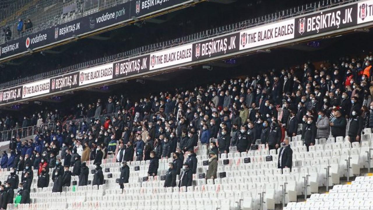 Beşiktaş taraftarı tam kapanmada stadyuma akın etti!