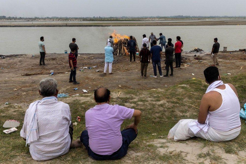 Ganj Nehri'nde korkunç görüntü: 71 kişinin cesedi kıyıya vurdu - Resim: 3