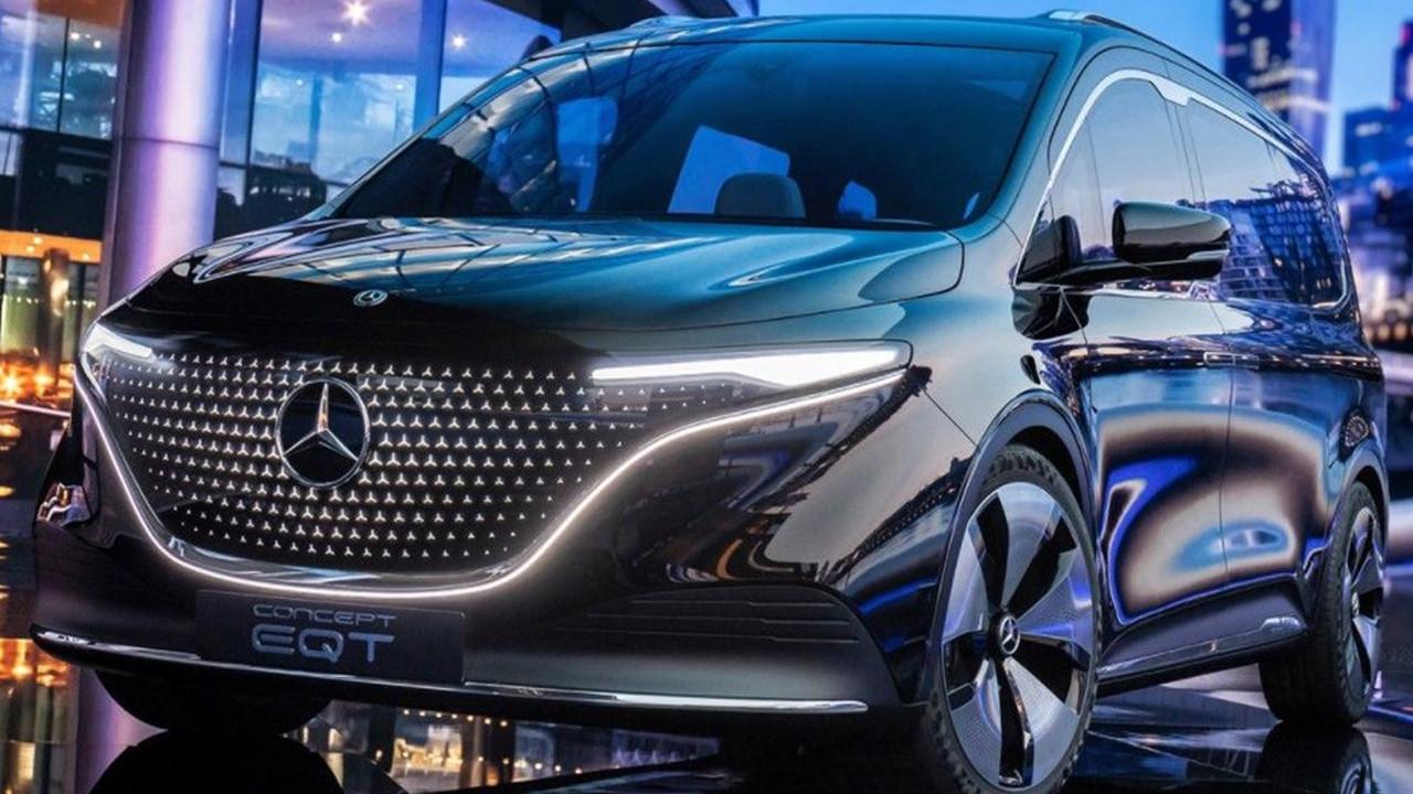 Yeni nesil araç: Mercedes-Benz Concept EQT tanıtıldı