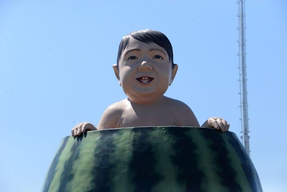 Diyarbakır'ın karpuz heykeli olay oldu - Resim: 4