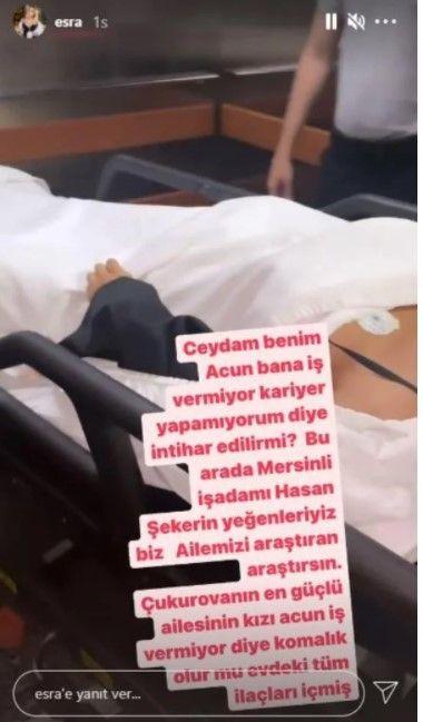 Acun Ilıcalı iş vermediği için intihar eden Ciciş Ceyda Ersoy'dan açıklama - Resim: 2