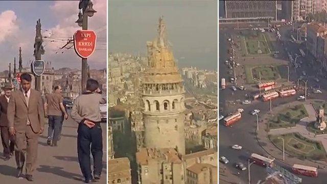Havadan, karadan ve denizden... İşte 50 yıl önce İstanbul! - Resim: 1