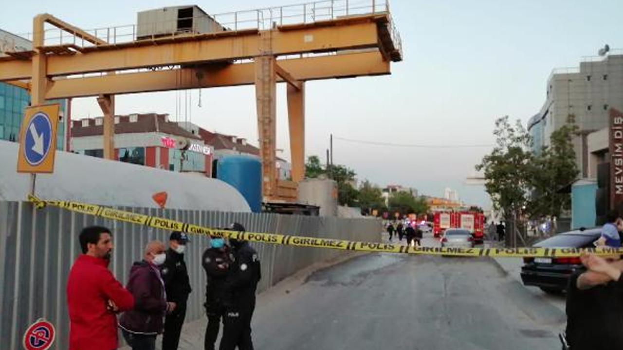 İstanbul'da metro inşaatında patlama