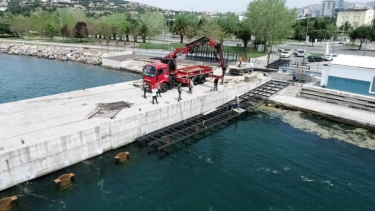 İstanbul'da su sporlarının yeni merkezi Kartal olacak