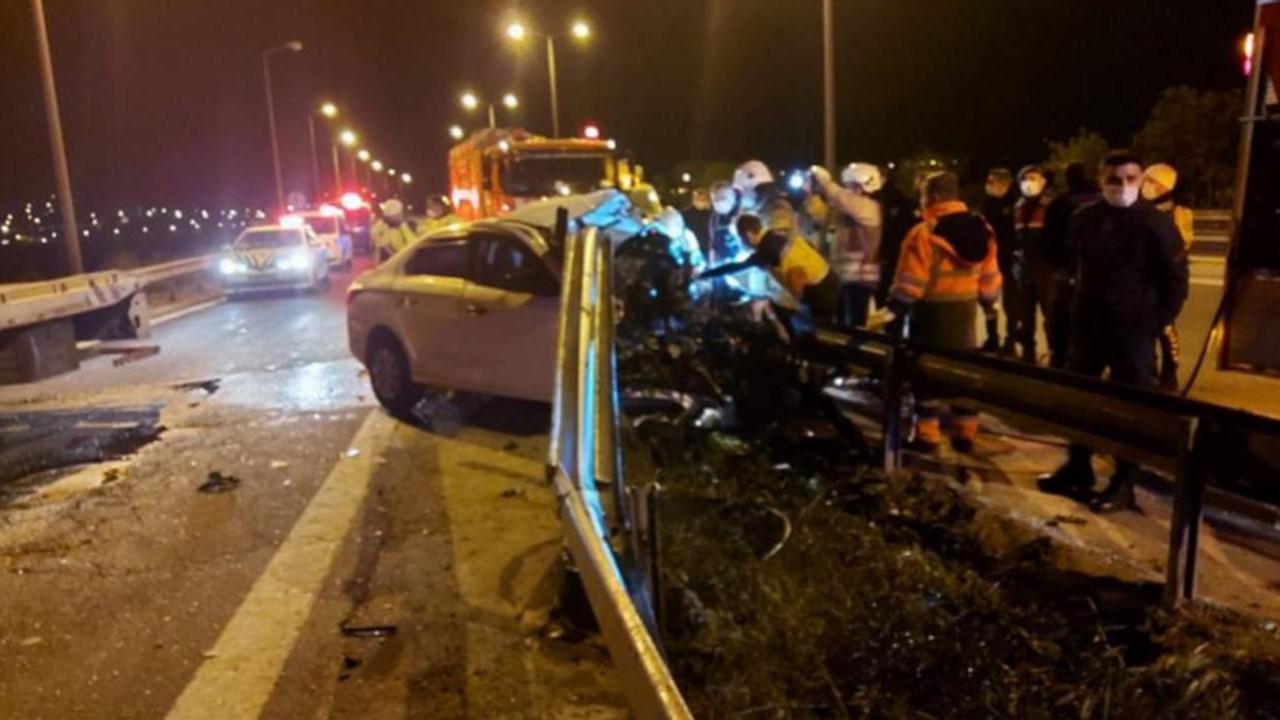 Sahur vakti İstanbul'da korkunç kaza