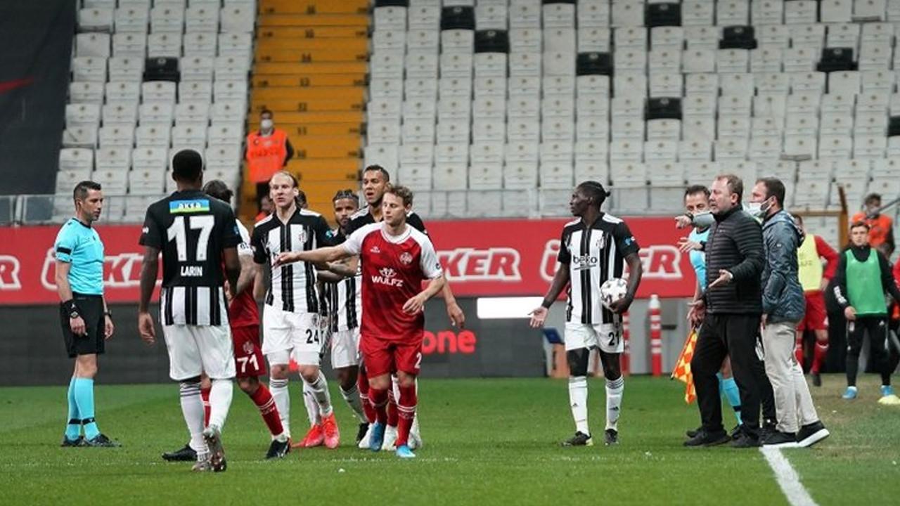 Beşiktaş ve iki futbolcusu PFDK'ya sevk edildi