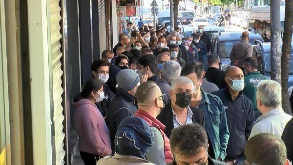Bu görüntüler İstanbul'dan... Ucuz baklava koronavirüsü unutturdu - Resim: 1
