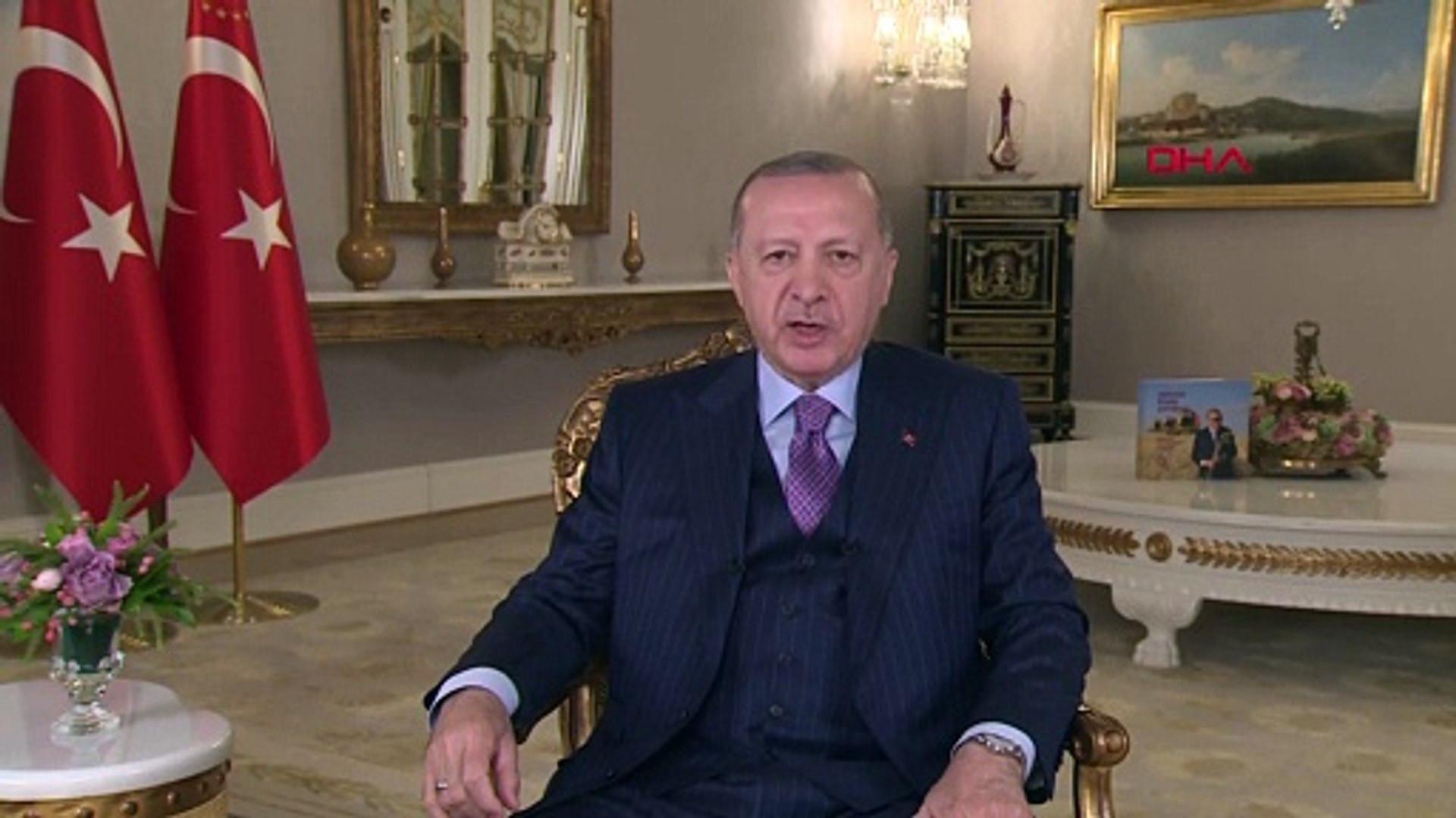 Erdoğan:'' Bayram sonrası kontrollü normalleşmeye başlıyoruz''