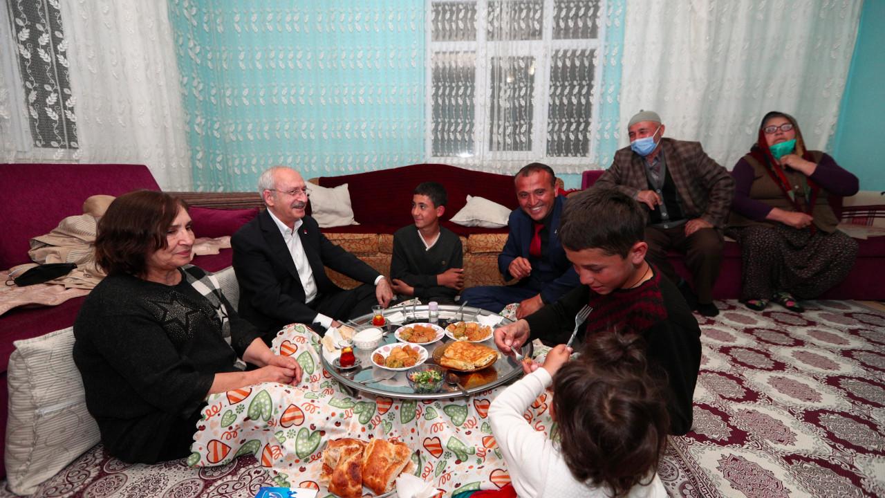 Kılıçdaroğlu'ndan sürpriz iftar