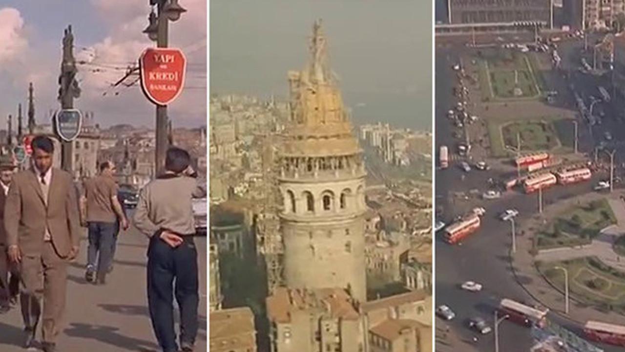 Havadan, karadan ve denizden... İşte 50 yıl önce İstanbul!