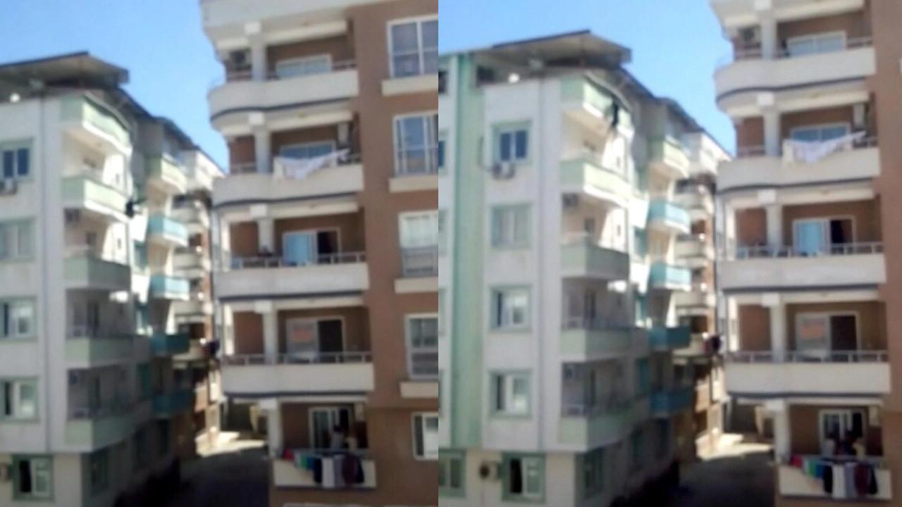 Osmaniye'de korkun olay: Genç kadın 5. kattan atladı