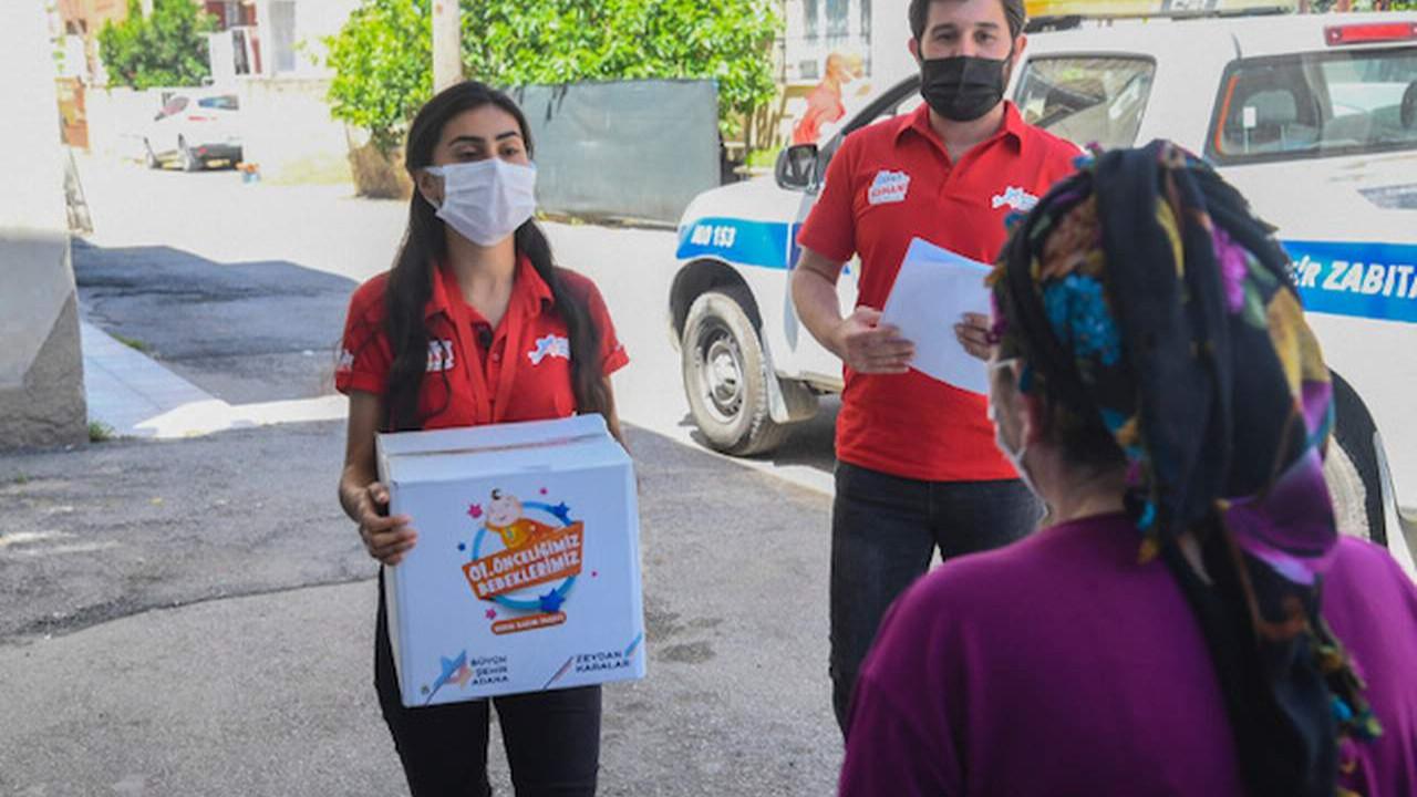 Adana Büyükşehir'den ihtiyaç sahiplerine sosyal destek