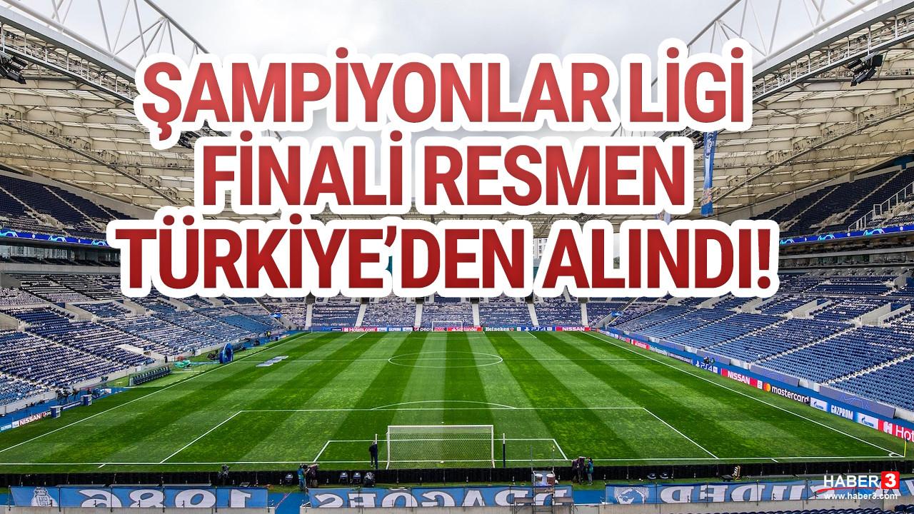 UEFA resmen açıkladı: Şampiyonlar Ligi finali Türkiye'den alındı
