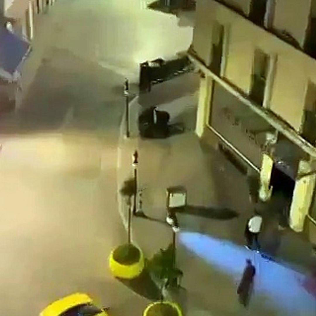 İstanbul'daki bekçi dayağı görüntüleri sosyal medyayı ayağa kaldırdı