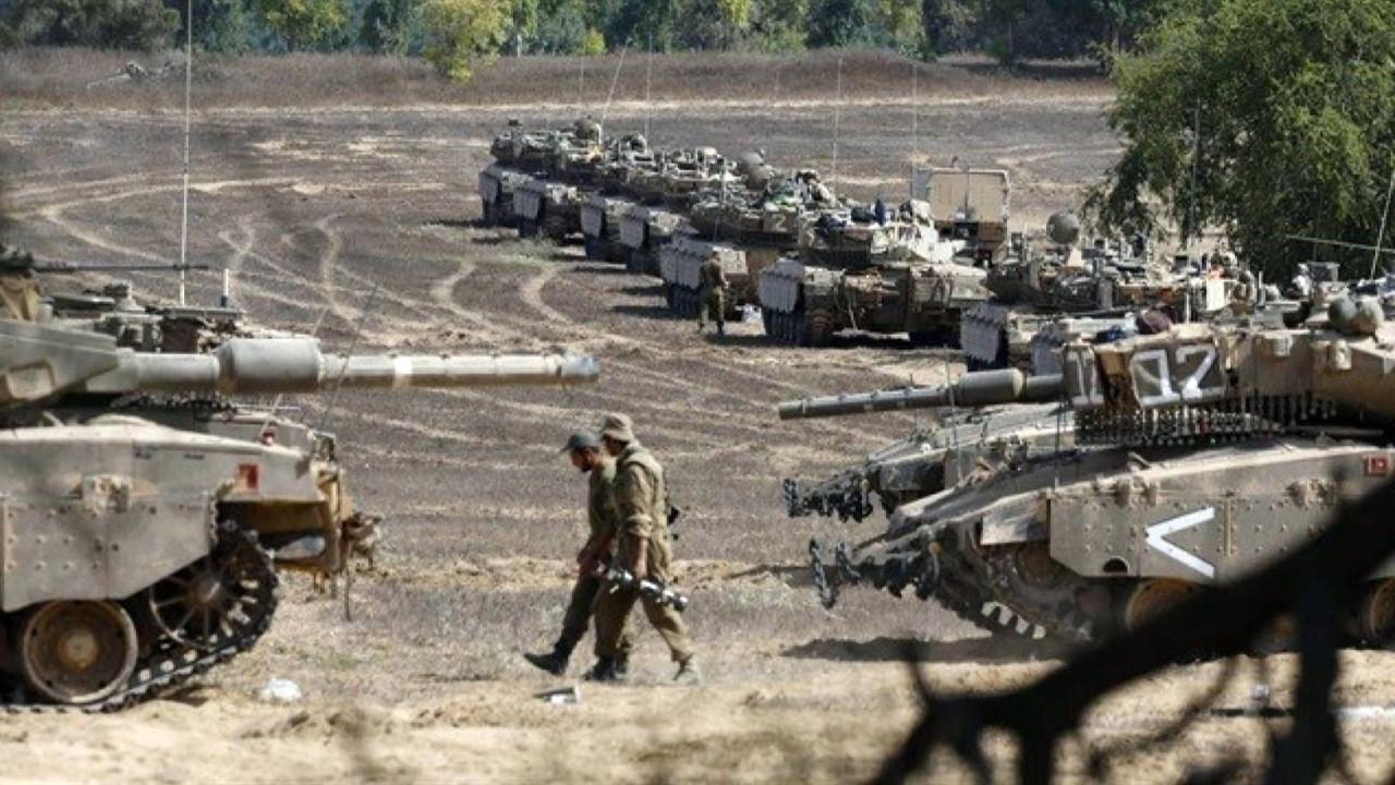 İsrail kara harekatına hazırlanıyor