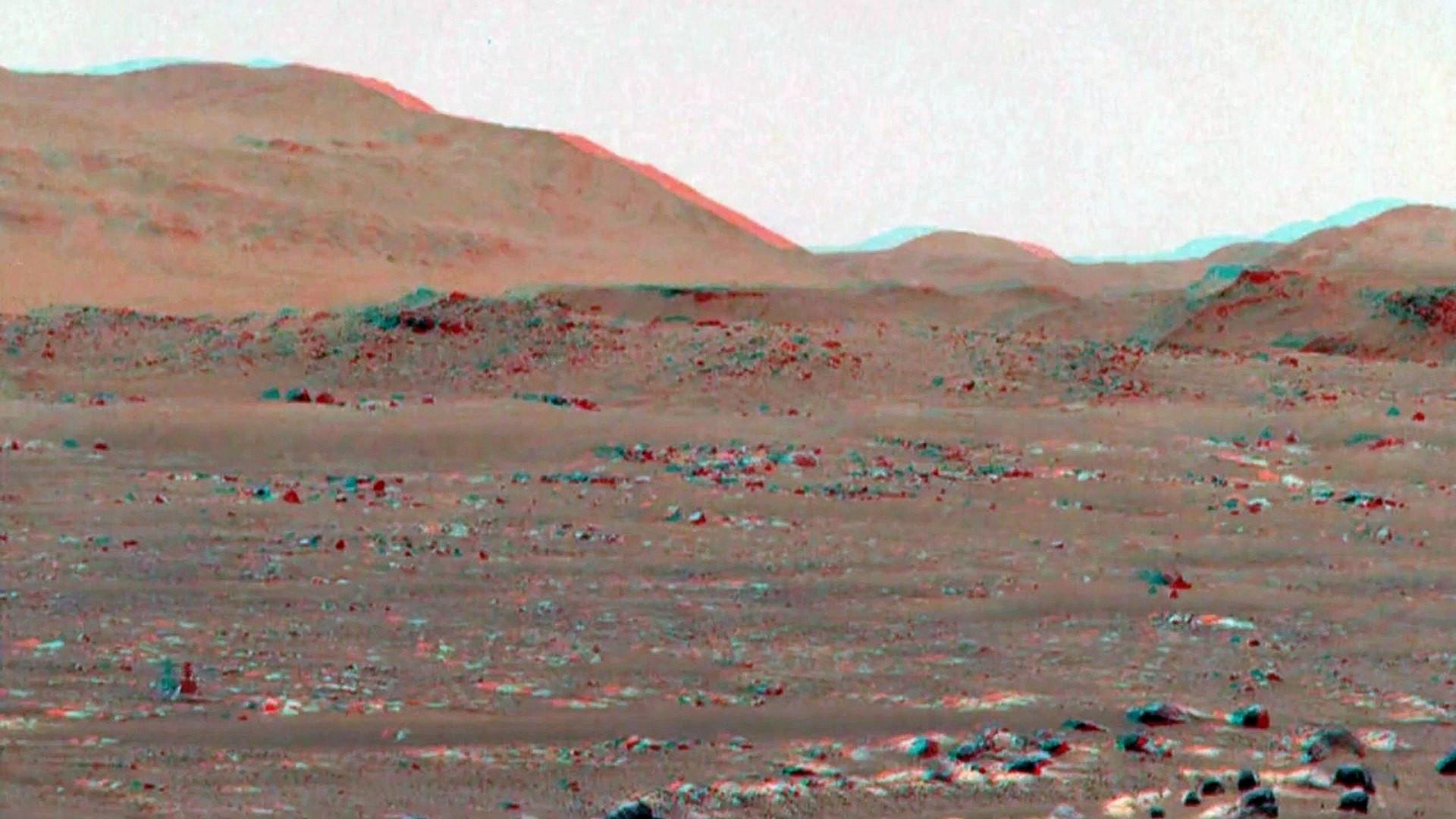 NASA Mars'tan 3 boyutlu video paylaştı