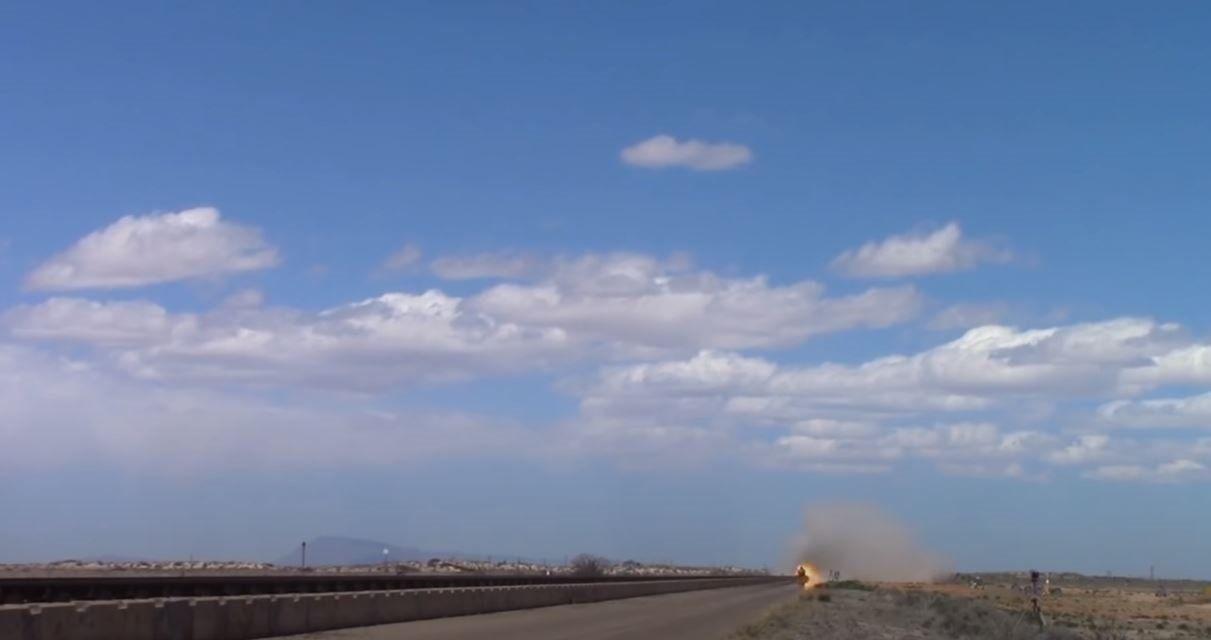 Savaş uçağından böyle fırlatıldı... Saniye saniye görüntülendi - Resim: 1