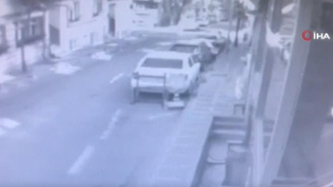 İstanbul'da dehşet anları... Eşini arabayla kaçırıp ailesini ezdi