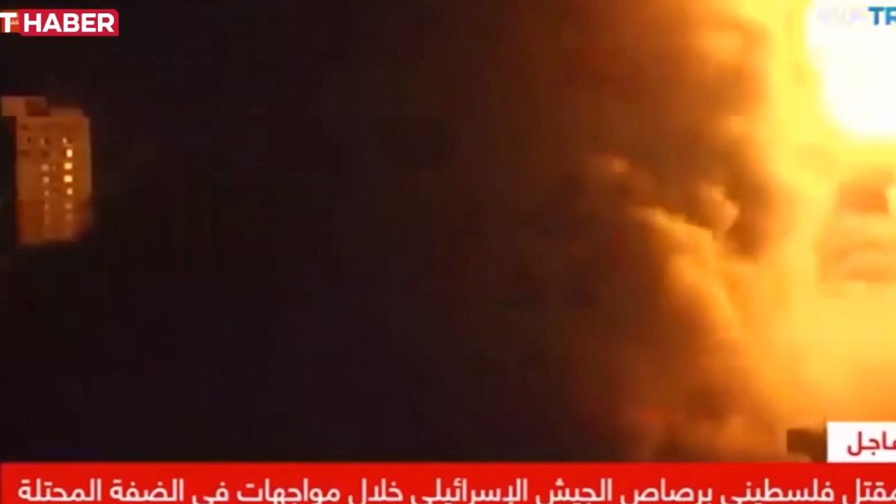 İsrail'den canlı yayında kanlı saldırı! TRT muhabirinin korku dolu anları kamerada