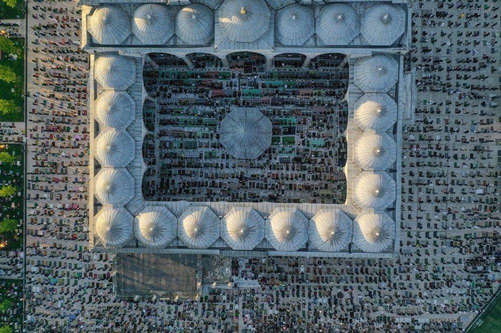 Ayasofya Camii'nde ilk bayram namazı - Resim: 4
