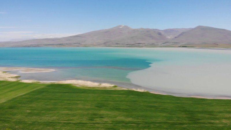 Van Gölü'nde şaşırtan görüntü - Resim: 2
