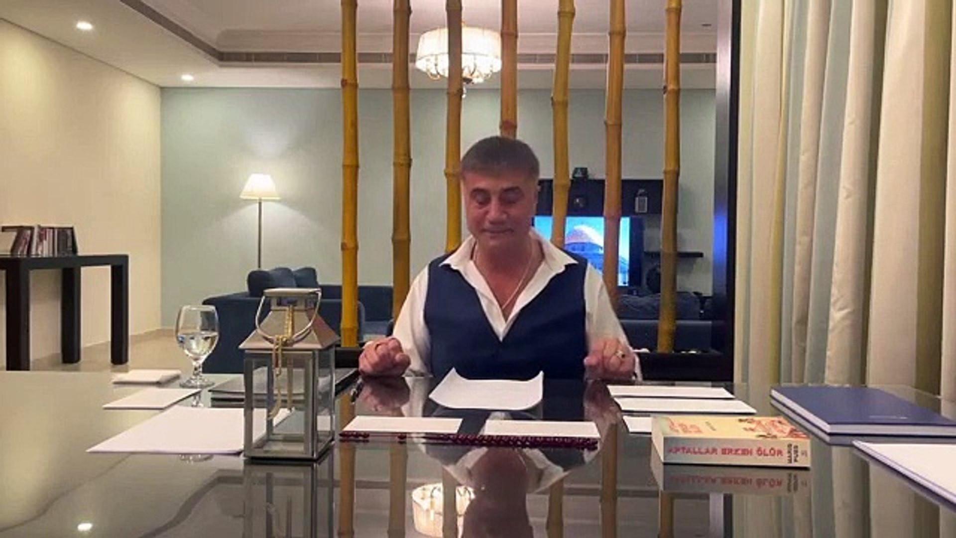 Sedat Peker'den yeni video paylaşım