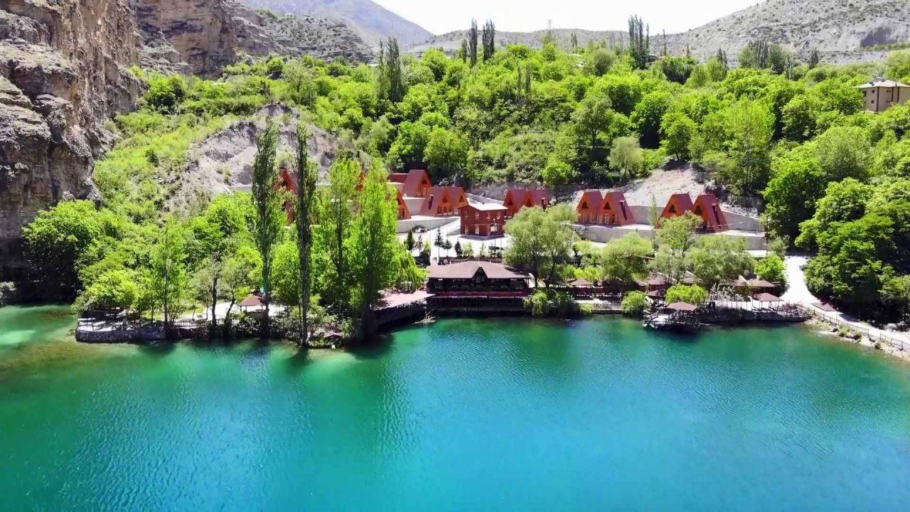 Saklı cennet ''Yedigöller''de bahar güzelliği