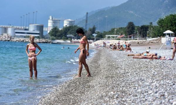 Tatil cenneti Antalya'da bugün... - Resim: 1