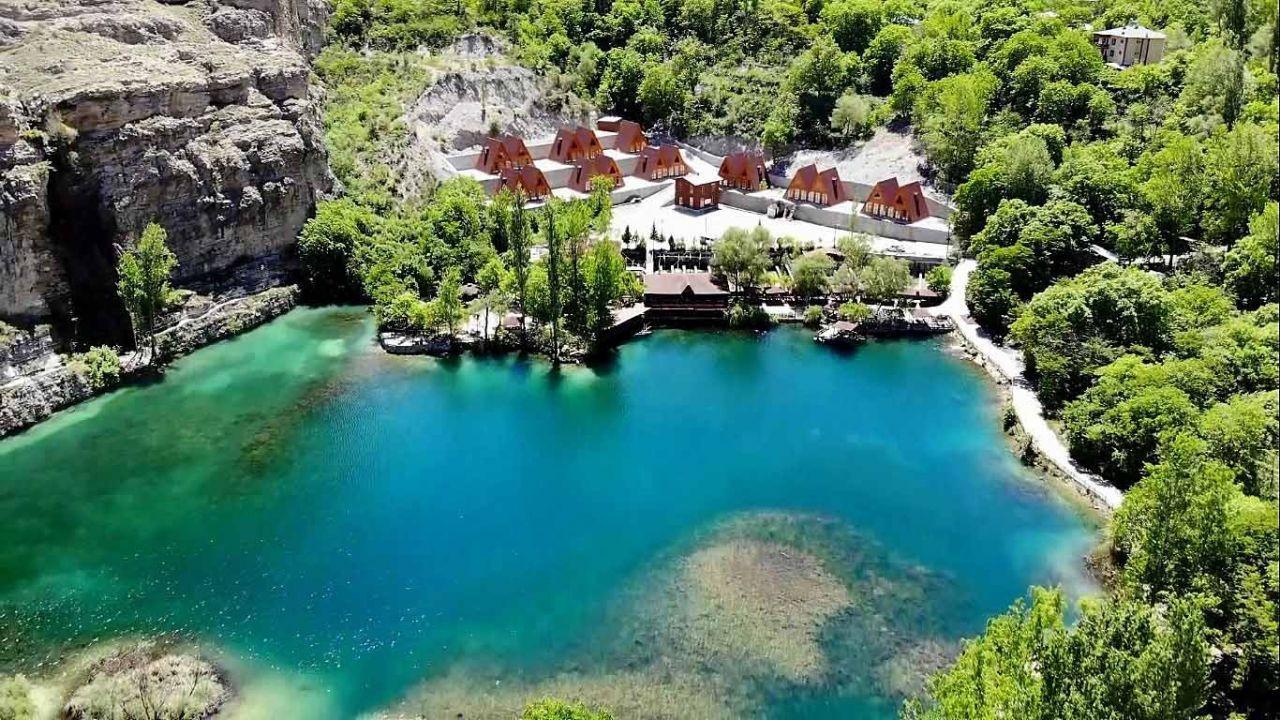 Saklı cennet ''Yedigöller''de bahar güzelliği - Resim: 1