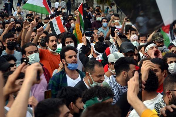 Burası İstanbul... Yüzlerce kişi İsrail'i protesto etti - Resim: 2