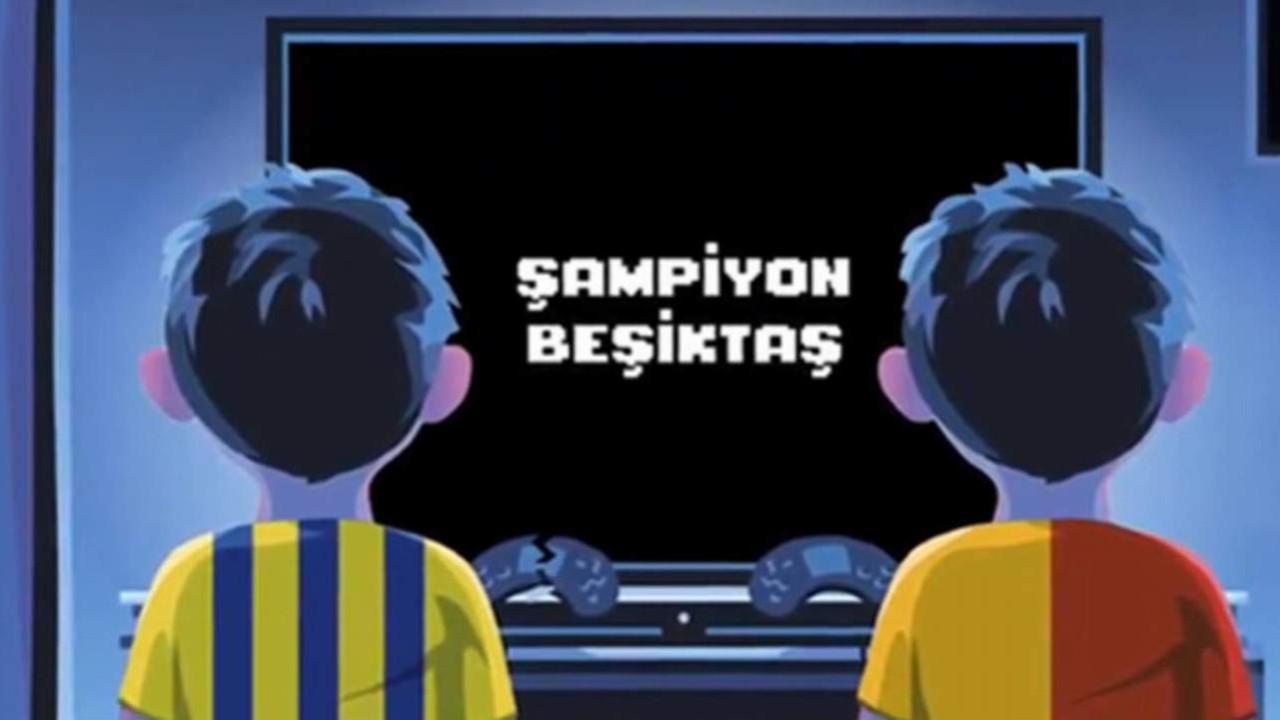 Beşiktaş'tan Galatasaray ve Fenerbahçe'ye olay gönderme