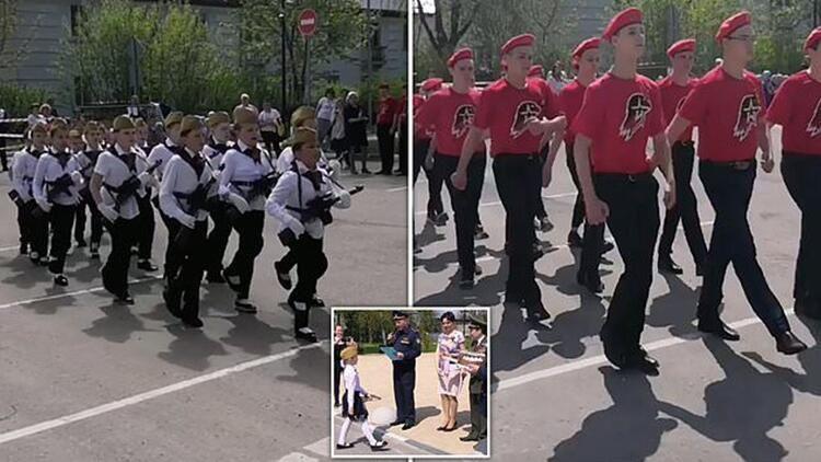 Rusya'nın çocuk askerleri şoke etti - Resim: 1