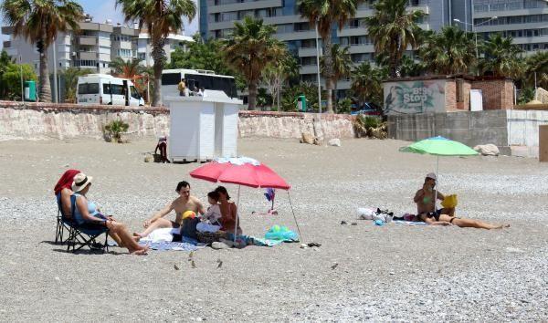 Turistler kapanmanın son gününde sahile akın etti - Resim: 3