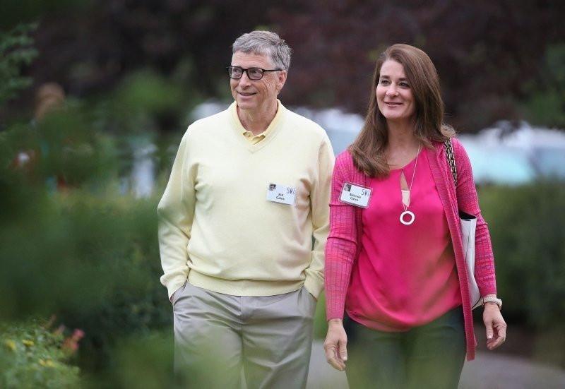 Gates çiftinin boşanmasında olay iddia