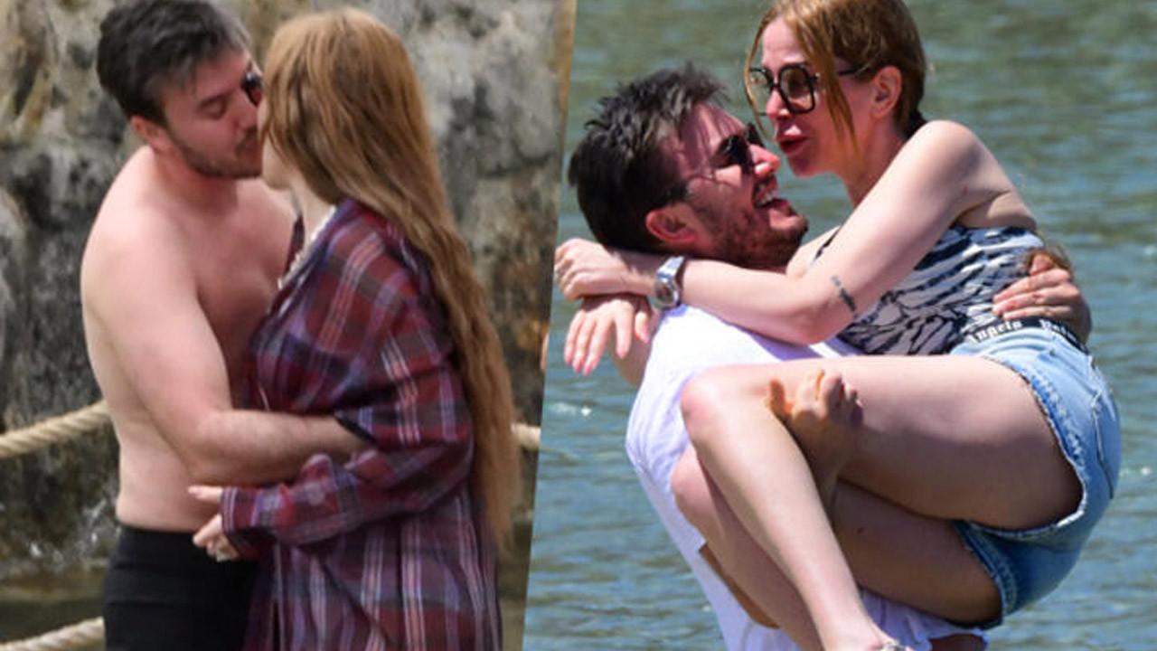 Mustafa Ceceli ve Selin İmer Bodrum'da aşka geldi